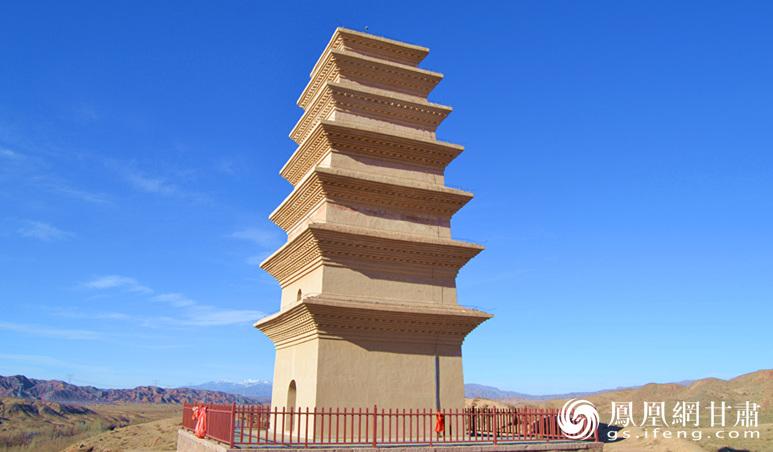 2001年圣容塔被列为全国重点文物保护单位 杨文远 摄