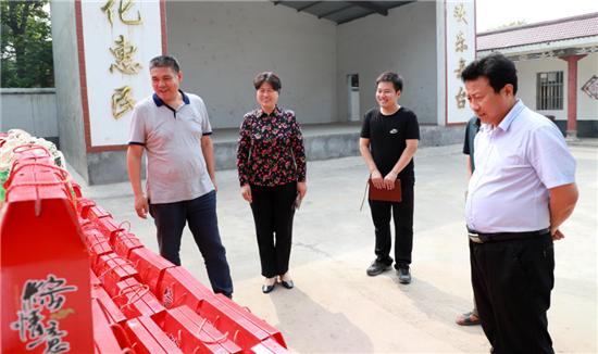 河南焦作:端午心系扶贫村 助力
