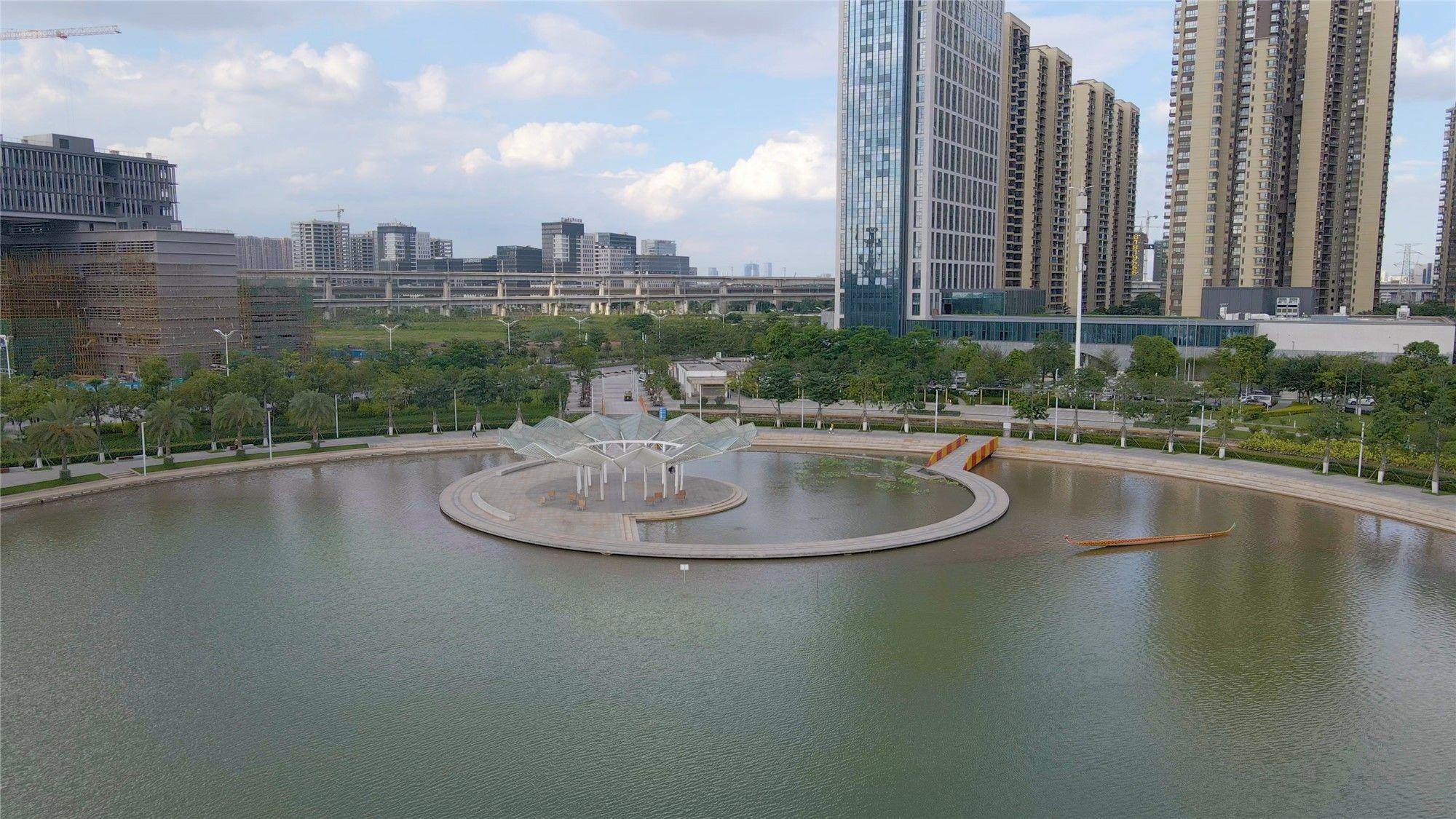 大手笔优生态!三龙湾南海片区三年建设超百个公园