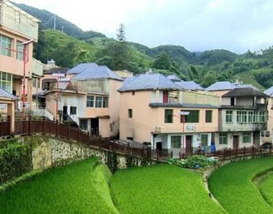 云南绿春:三猛乡,梯田边上的宜居美丽乡村