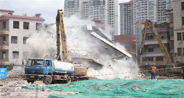 """广州文冲旧改大规模拆卸动工 上半年签约率破新高""""class="""