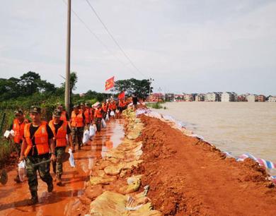 鄱阳湖水位突破1998年历史极值