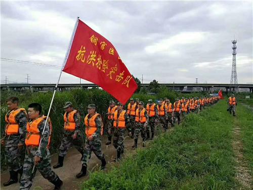 铜陵市铜官区:人民武装为人民