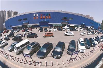 塔湾北行农贸市场新建静态停车场。