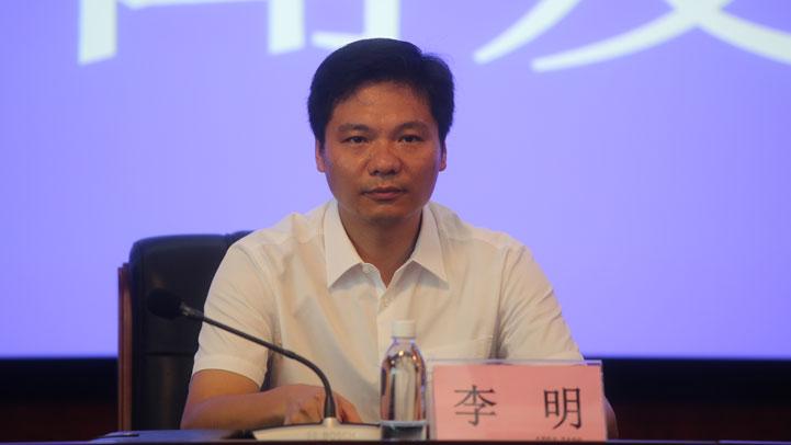省农业农村厅种植业管理处副处长李明(图片由 王雨琳摄)