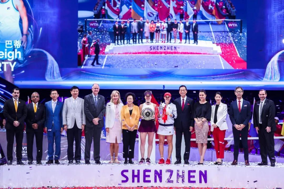 资生堂·深圳WTA年终总决赛 与您相约2021