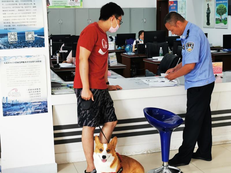 沈阳市大东区万泉街道龙源社区 倡导文明养犬 做文明养犬人