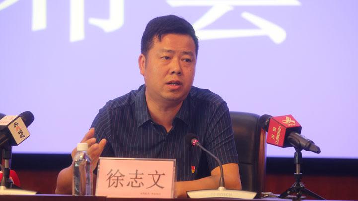 省鄱阳湖国家级自然保护区管理局局长徐志文(图片由 龚梓琦摄)