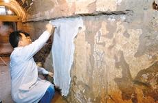 壁畫展現唐代生活 唐李道堅墓壁畫完成第一階段修復