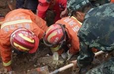 陜西省延安市志丹縣發生土畔坍塌事故4人被埋身亡
