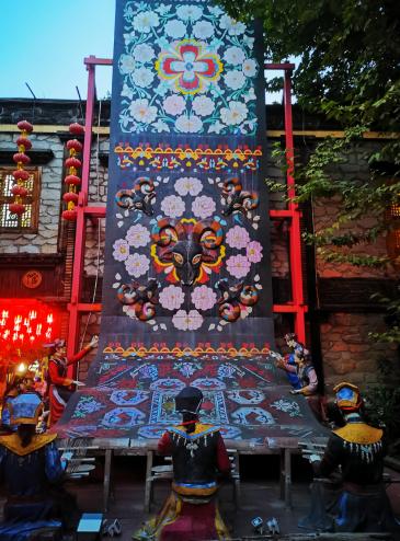 汶川县西羌文化街