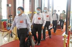 出席省十三屆人大四次會議的代表報到完畢