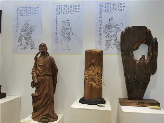 朝圣先祖 传承使者——刘步蟾·吴孔德艺术联展在海口开幕