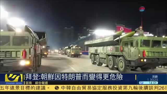 拜登:朝鲜因特朗普而变得更危险