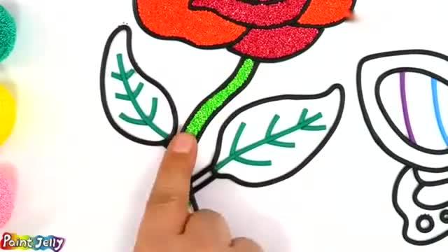 创意生活,教你用蓝色皱纹纸diy玫瑰花,挺漂亮的