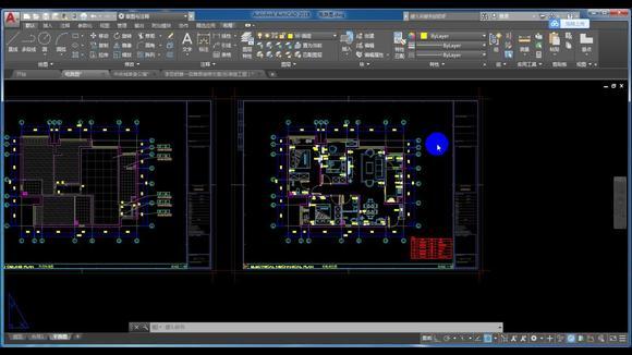 室内设计:cad室内施工图-开关控制图(一)学室内设计的看过来