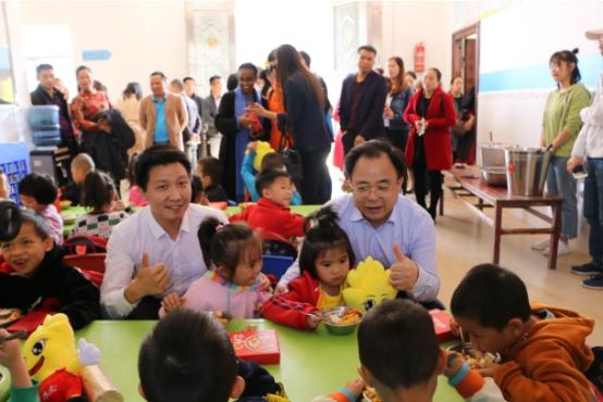 联合国世界粮食计划署携手想念食品 共同开启学龄前儿童营养改善试点项目