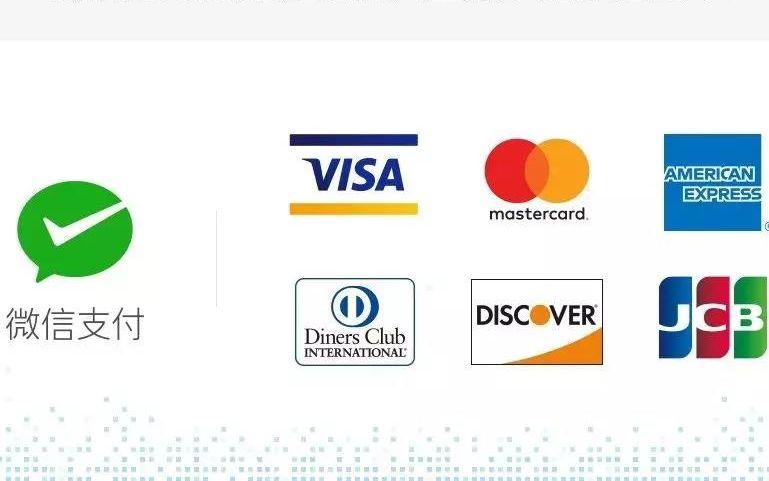 微信支付可绑定国际信用卡腾讯与五大卡