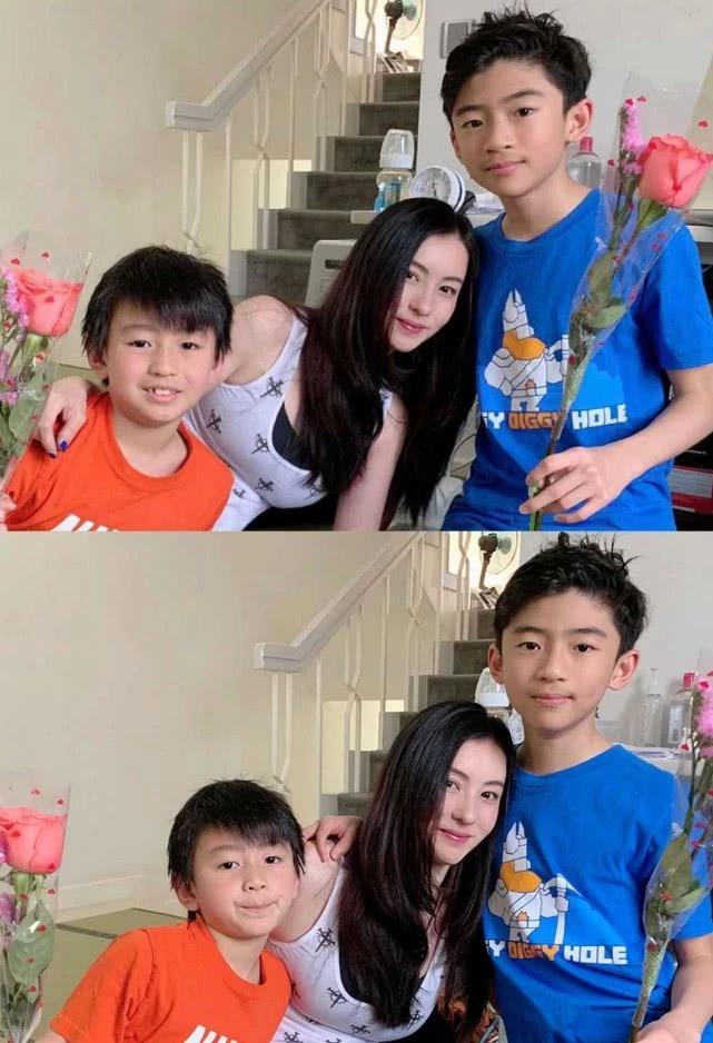 张柏芝长子近照如迷你霆锋,12岁的他冷漠拒绝妈妈牵手