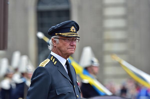 瑞典国王卡尔十六世·古斯塔夫。