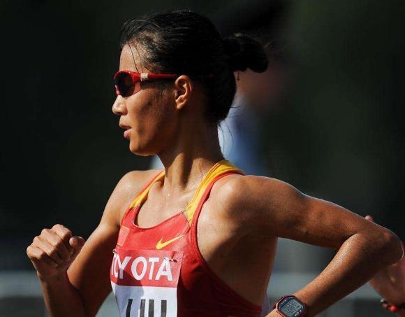中国田径第2金!女子20公里竞走刘虹夺冠