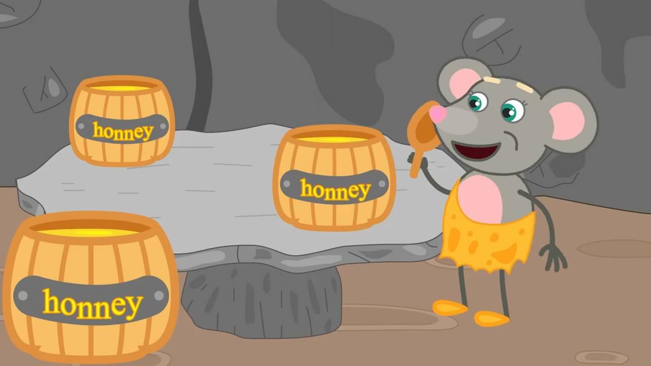 小小屋给小猴子无限哲学,采了好多蜂蜜搭建老鼠意义定理蜜蜂图片
