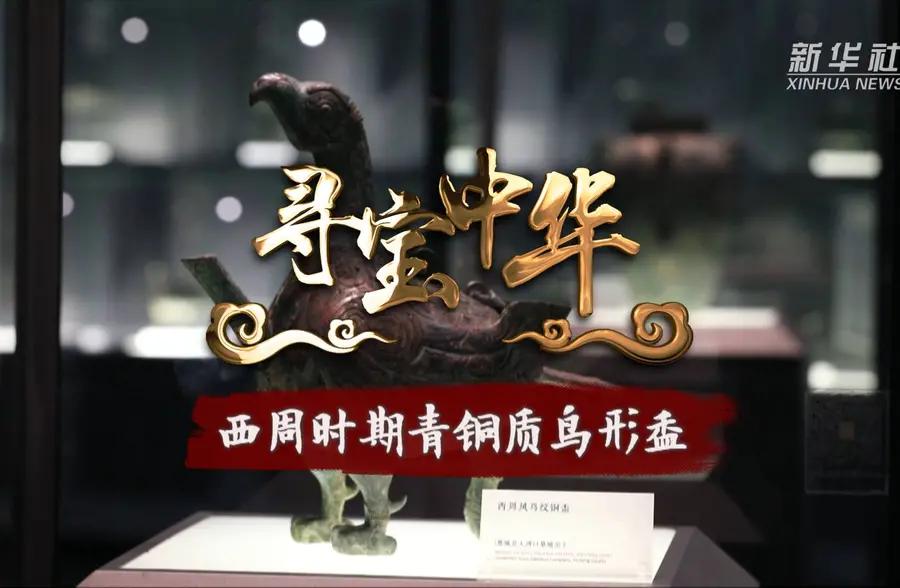 寻宝中华|西周时期青铜质鸟形盉