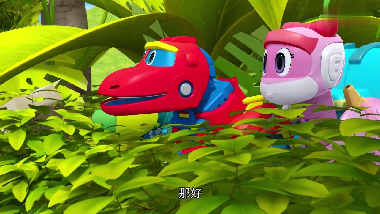 帮帮龙:帮帮龙出发,发现了新恐龙,竟然是偷蛋龙图片