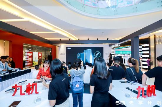 """九机网CEO助阵""""NEX35G未来先享""""活动昆明首场开启"""