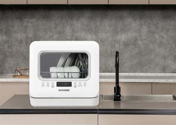 小米有品开卖圈厨台式洗碗机:五种清洗模式