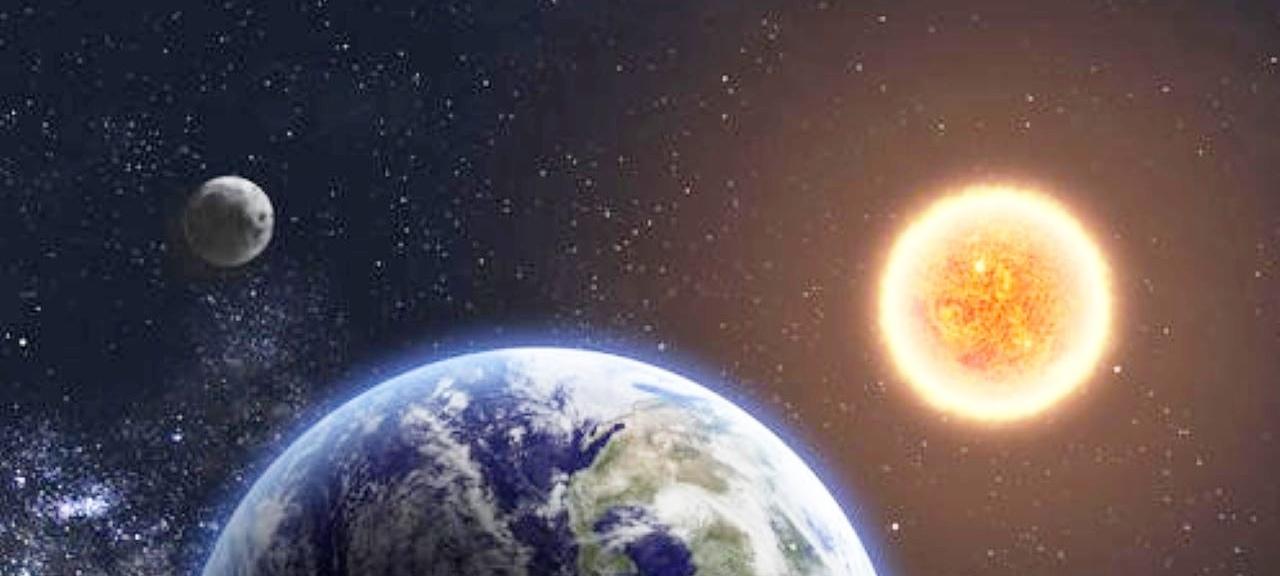 地球有自己的运行轨道,若靠近太阳一点,会变成什么样?图片
