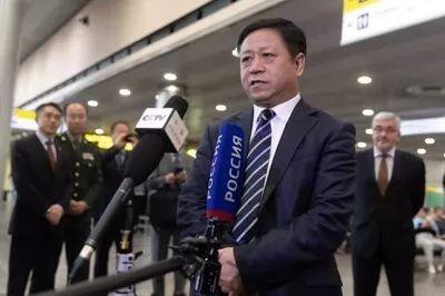 张汉晖履新中国驻俄大使,前任李