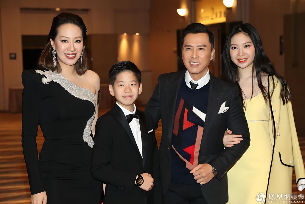 2019年12月14日,香港,甄子丹,张晋,吴建豪(vanness)出席电影《叶问4图片
