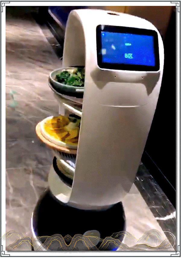 """重磅丨新白鹿首家『智慧餐厅』开业 机器人迎宾上菜,一个字,""""酷"""" 白鹿餐厅"""