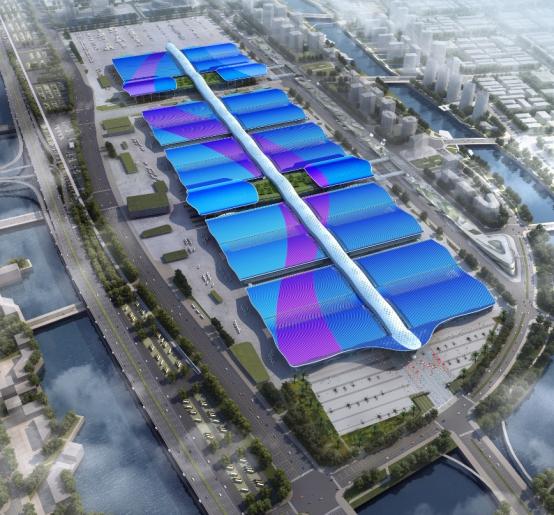 """""""全球最大""""深圳国际会展中心设计方法国VP谈设计理念"""