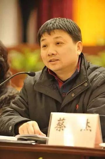 武汉市委常委、市委秘书长蔡杰被