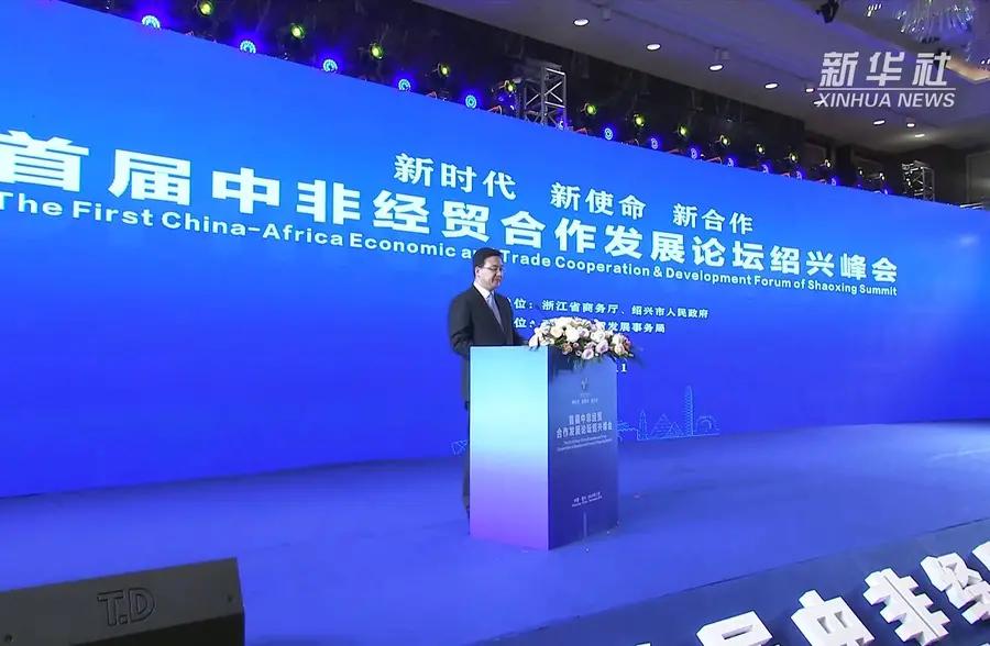 首届中非经贸合作发展论坛绍兴峰会举行