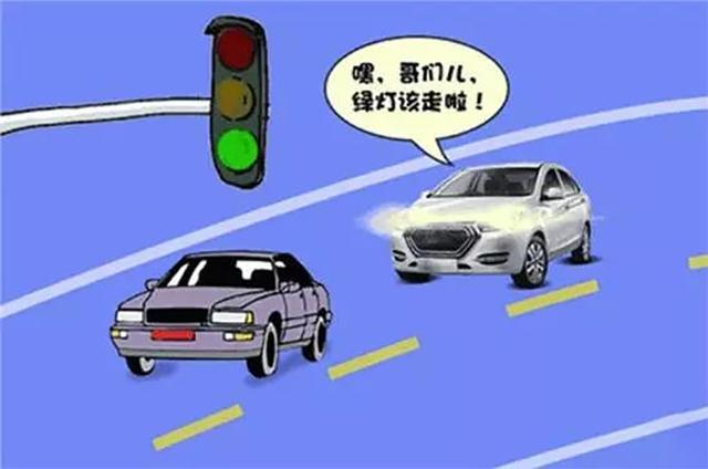 开车时对方大灯闪三下是什么意思?新手司机要注意了