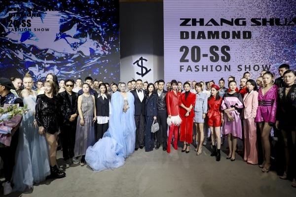 """美钻光耀展现恒久之美,ZHANGSHUAI 2020春夏""""Diamond""""大秀引领新季风尚"""