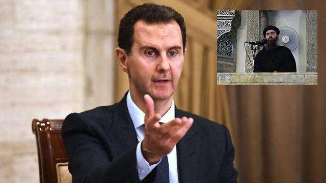 """巴格达迪没死?叙利亚总统调侃特朗普:这只是一场""""梦幻剧"""""""