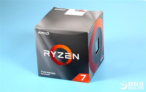 力压9900K!AMD锐龙7 3800X图赏