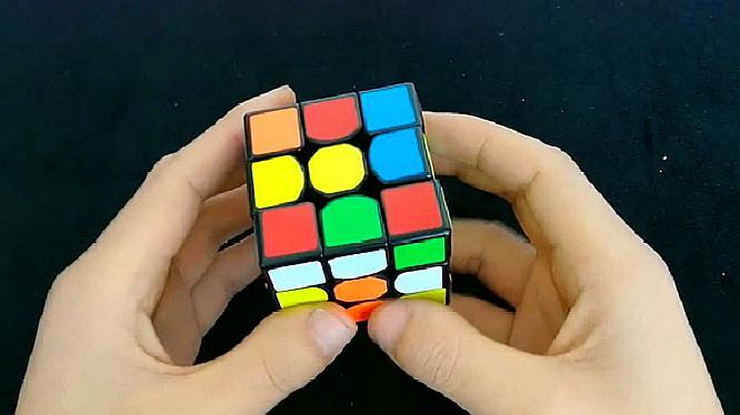 九阶魔方公式图解步骤
