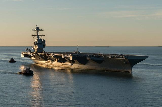 航空母舰 未来航母可能变成半个潜艇:大部分潜在水下 水上部分仅有两米高