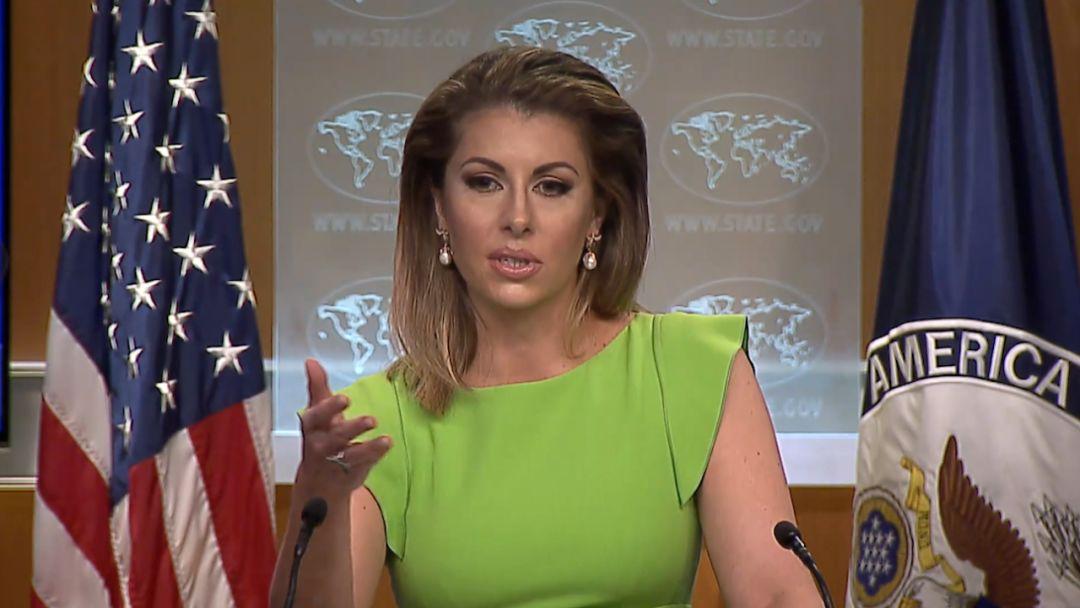 """中国记者质问美对台军售 美国务院发言人回答真是""""尬"""""""