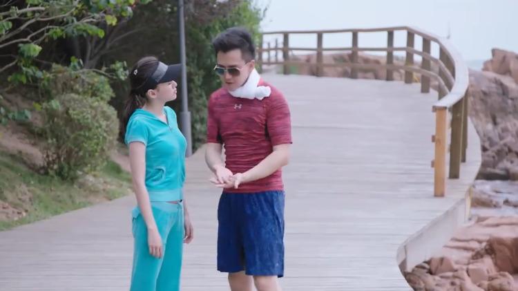 暖爱:夫妻俩比赛跑步,妻子耍赖提前跑,丈夫笑得一脸宠溺