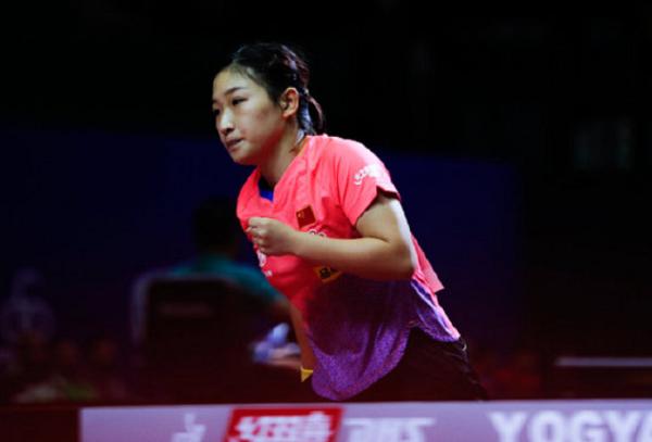 奥运冠军刘诗雯抗压夺首胜!3:0横扫日本世界冠军!