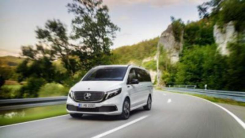 MPV也玩纯电动?奔驰EQV成全球首款电动商务车!