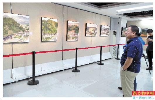南园美术馆策展人尹京华多年来举办了多