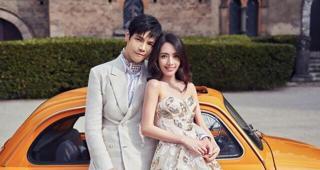 郭碧婷嫁入豪门酞节俭,三套婚纱照质朴大气,却被网友吐槽影楼风