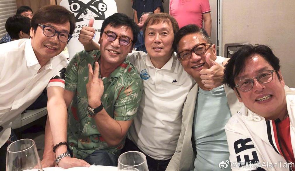 """谭咏麟69岁生日连过18场排面十足!曾志伟送百只""""礼物""""为其庆生"""
